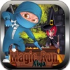 Ninja Heroes:Blackmagic Wiccan Run