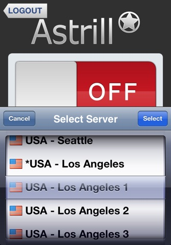 Download Astrill VPN Client app for iPhone and iPad