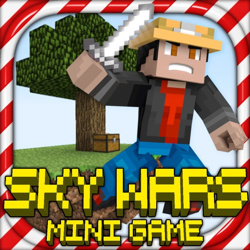 SKY WARS - MC Battle Survival Hunter Block Mini Game
