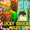 Lucky Block Maze : Mini Survival Game