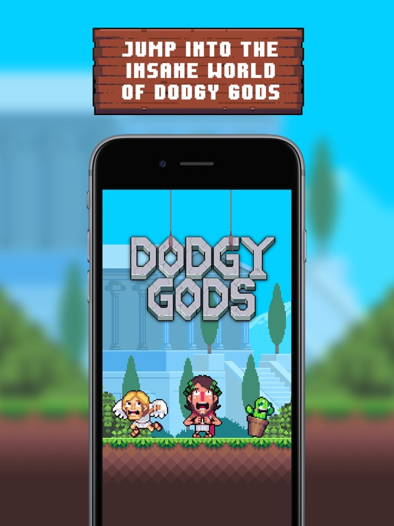 Dodgy Gods Screenshot