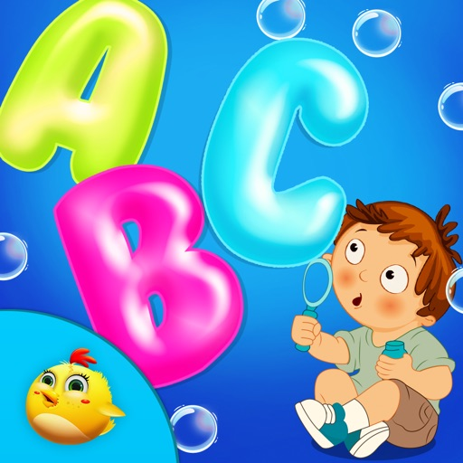 ABC Bubbles Popup For Toddlers iOS App