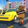 Pixel City: Crime Car Theft Race 3D Full