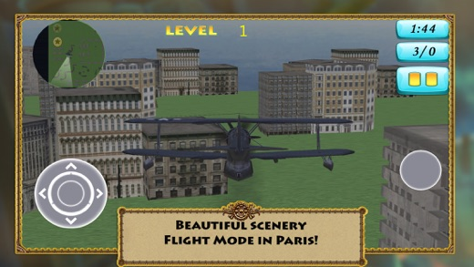 3D Air Paris Simulation - Fly to France Screenshot