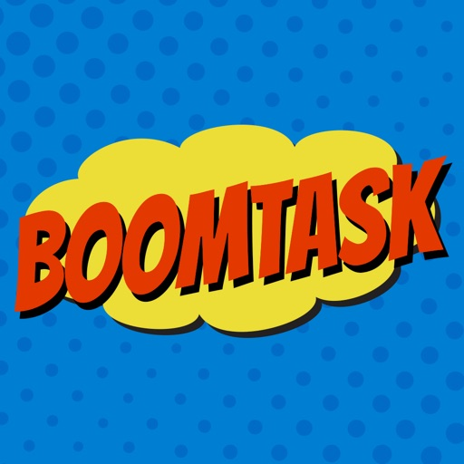Boomtask - To-Do and Task List App with a BOOM! iOS App