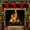Amazing Christmas Fireplaces