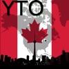 Торонто Карта