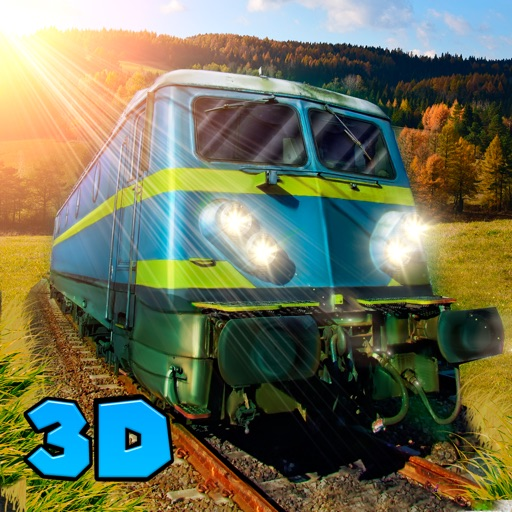 Cargo Train Driver 3D Full iOS App