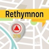 Rethymnon Offline Map Navigator and Guide