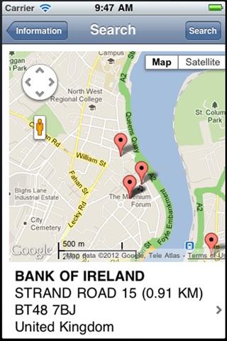 Bank Info screenshot 4