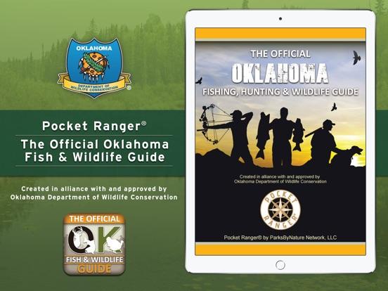 Oklahoma fishing hunting wildlife guide pocket ranger for Lifetime fishing license ok