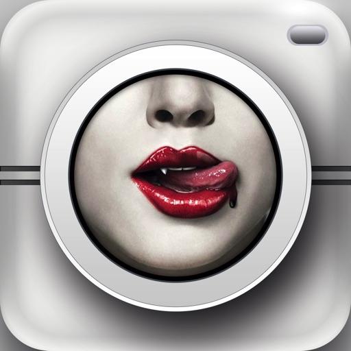 Vampire Makeup - Insta Blood Cam, Splash Effects Photo Editor Booth iOS App