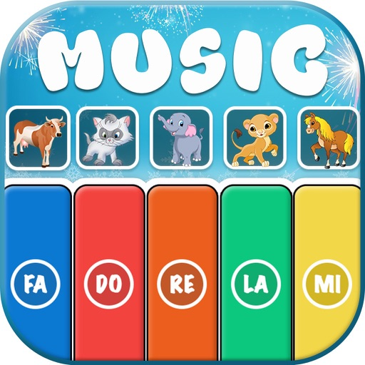 Music Instruments Fun For Kids iOS App
