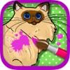 Книжка-раскраска кошек и котят