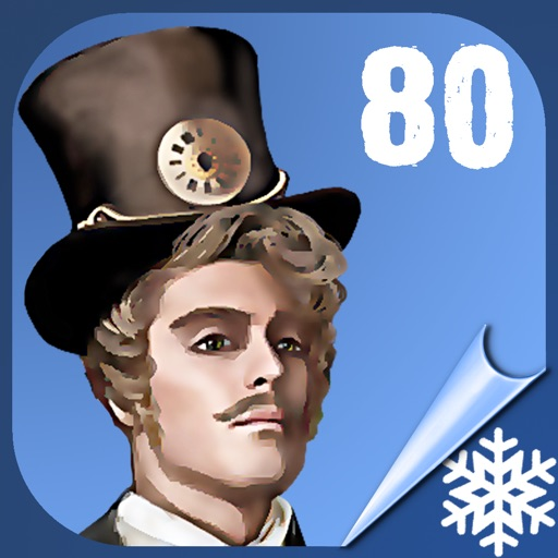 Around The World in 80 Days - Hidden Object Games - Search Differences - Jules Verne