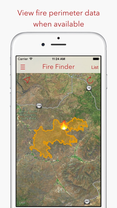 download Fire Finder - Wildfire Info, Images and More apps 0