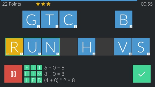Durion 2 - addictive word game Screenshot