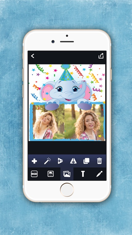 Birthday Photo Frames – Write Or Draw Your Wishes And Make Cute ...