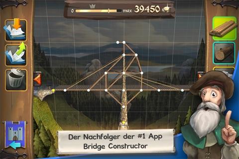 Bridge Constructor Medieval screenshot 2
