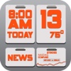 SumDay: Your calendar,  news,  weather,  time and stocks in one place!