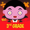 Vampire Academy - learning math games for kids