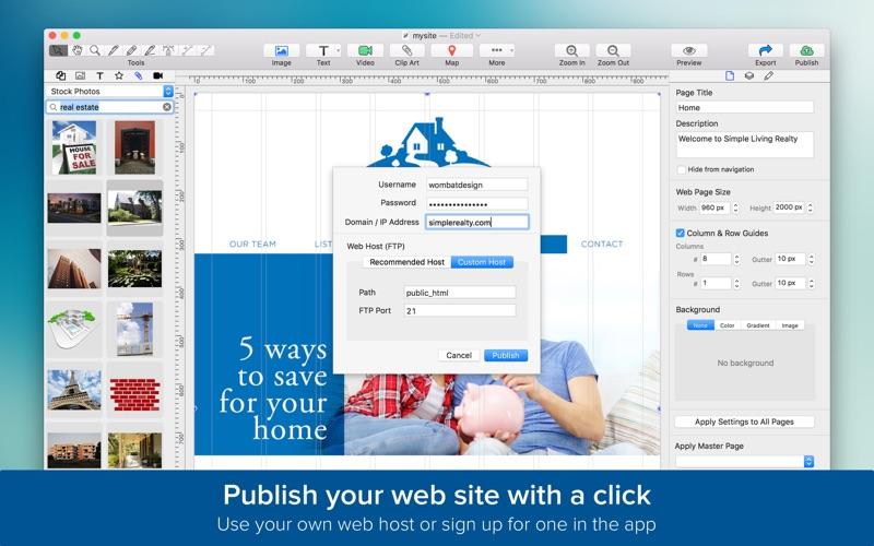 TurboWeb for Mac 1.1.9 注册版 – 网站设计工具-爱情守望者