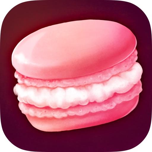 Macaron Crack - Delicious Tapping iOS App