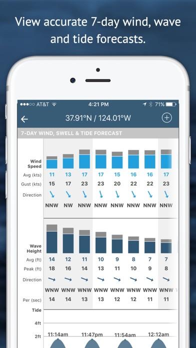 Buoyweather - Accurate Marine Weather Forecastsスクリーンショット
