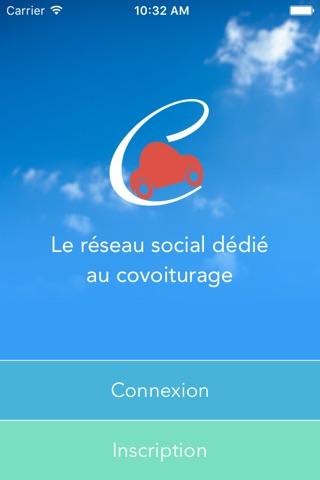 Covyou - Créez votre propre réseau de covoitureurs screenshot 1