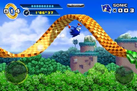Sonic The Hedgehog 4™ Episode I screenshot 1