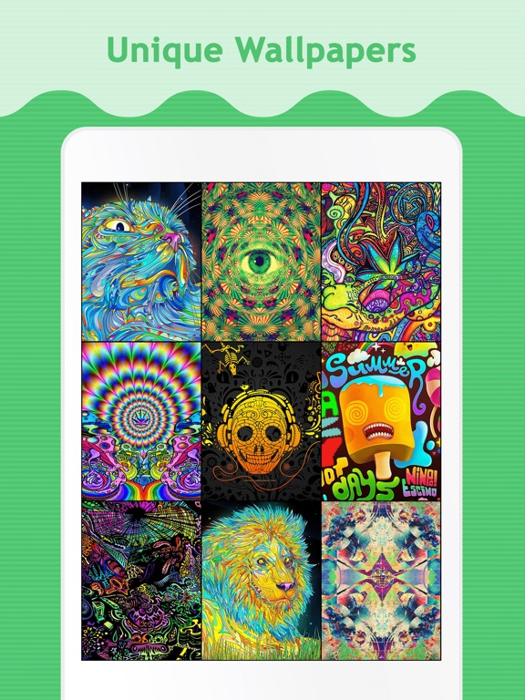 Trippy Wallpapers for iPad Screenshot