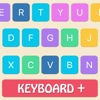 Keyboard Themes Plus - Stylish Keypad Skin with Colorful Background Design display themes