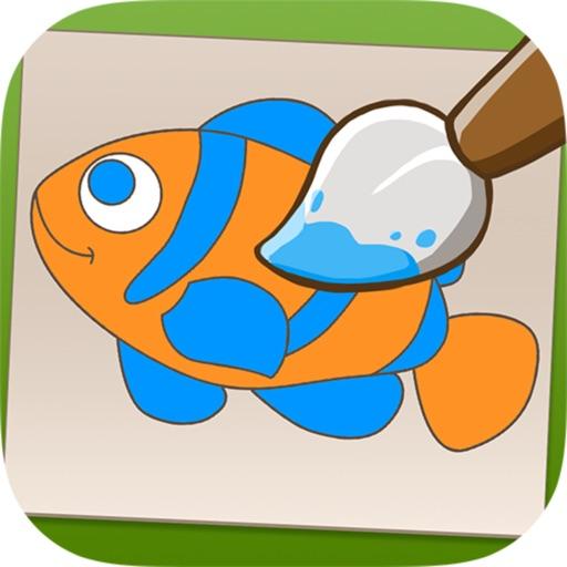 Color Me - World of Animals Prof iOS App