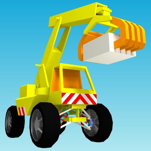 小小起重机:little crane【模拟真实操作】