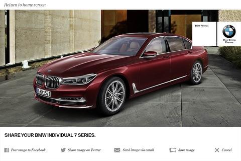BMW Individual 7 Series AR CN screenshot 4