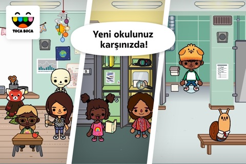 Toca Life: School screenshot 1