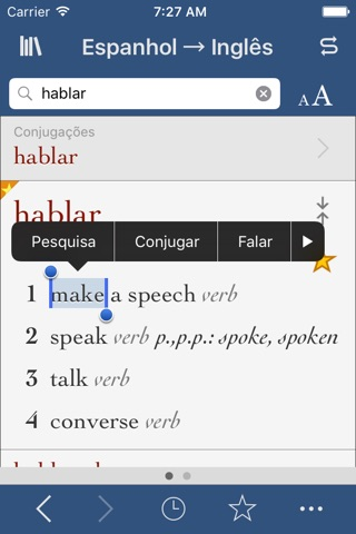 Spanish-English Translation Dictionary and Verbs screenshot 1