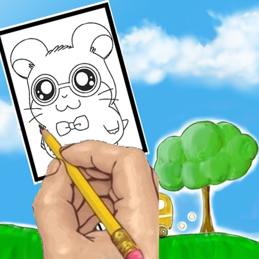Paint Cartoon Hamtaro Coloring Version iOS App
