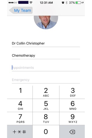 My team - Connect to Your Healthcare Providers screenshot 3
