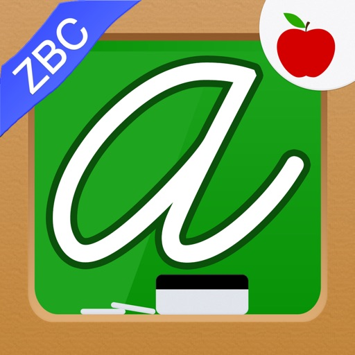 kids abcs cursive writing tracing cursive letters zbc ios app