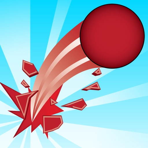 Impossible Red Ball Dash iOS App