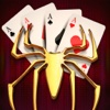 Full Deck Spider King - 250 Solitaire Spiderette Classic Cards Casino Games Free