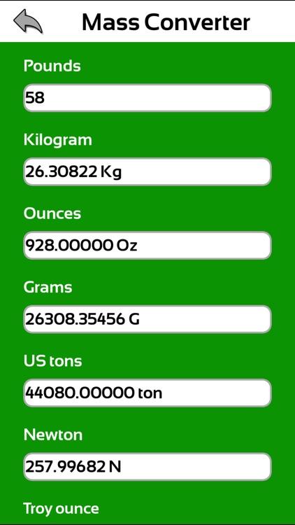 kilo gram mm calculator