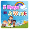 Days Of Week Pre-School Kids Learning For Kindergarten Students