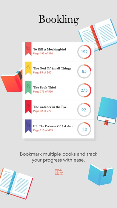 Bookling - Track Your Reading Habits app