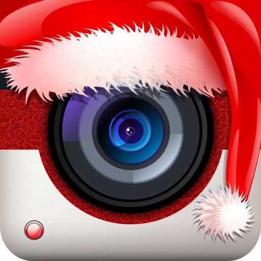 Merry Christmas Photo Cards Maker - Santa Meme Creator for Xmas Pics Effects iOS App