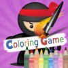Coloring Book Education Game For Kids - Ninjago Version