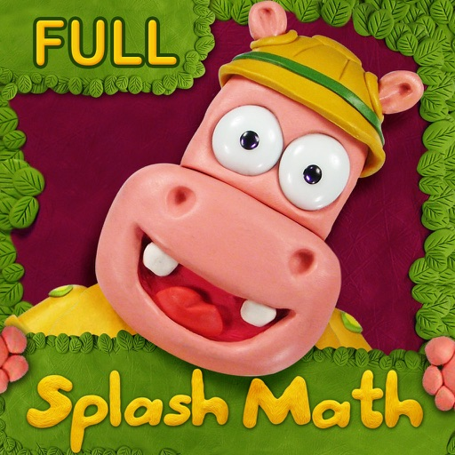 Preschool & Kindergarten Splash Math learning games for kids: counting numbers 123 & addition apps