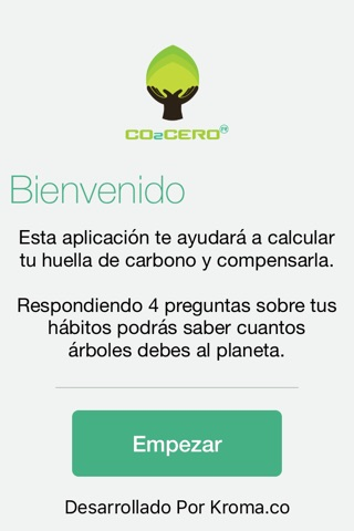CO2CERO screenshot 2