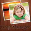 Photo Crop manager, cut copy paste photo and photo editor